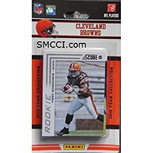 2012 Score Cleveland Browns Factory Sealed 12 Card Team Set Including Colt Mccoy,... by Cleveland Browns Team Set