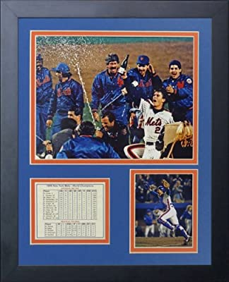 """Legends Never Die """"1986 New York Mets"""" Framed Photo Collage, 11 x 14-Inch"""
