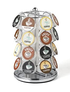 28 Capacity K-Cup Carousel (Chrome) - Nifty