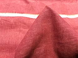 GANGHS Men's Designer Solid Cotton Linen Blend Shirt Fabric