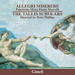 Allegri - Miserere; Palestrina - Missa Papae Marcelli - Stabat mater - Tu es Petrus (6vv) from Gimell