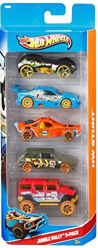 Hot Wheels Jungle Rally 5 Pack (X9861)