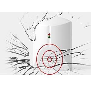 BestDealUSA Glass Break Detector IR Alarm Home Security System for Window Door Safety