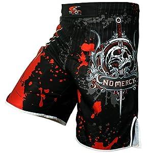 Pro Gel Fight Shorts UFC MMA Grappling Short Kick Boxing Muay Thai Cage Pants (Medium)