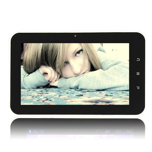 7-Inch Android 4.0 Touchscreen Tablet PC Black (512 MB DDR3, 8GB NAND FLASH, HDMI 1080P 2160P)