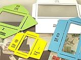 エコフォームセット(手造り封筒用の型紙4種セット)[ラッピングペーパーで封筒を作ろう!]