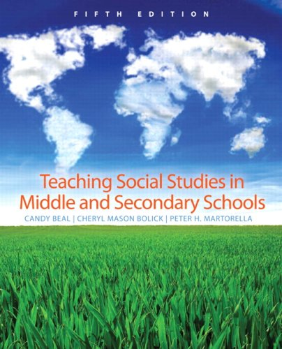 Teaching Social Studies in Middle and Secondary Schools...