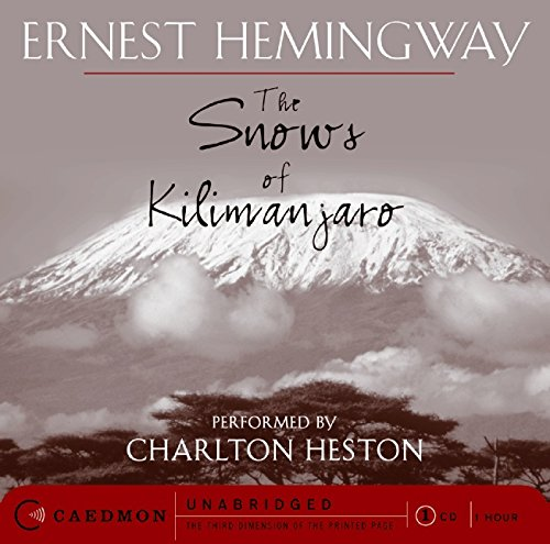 the importance of the use of animals and flashbacks in the snows of kilimanjaro a short story by ern Le fanu's short story the importance of setting is noted in a london review of the far from the settlements studying the print of animals' feet.