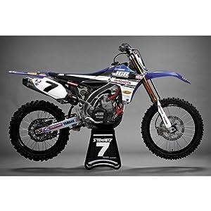 N-Style 2012 JGR Race Team Graphic Kit - Yamaha YZ125/250 2002-2012 - Black - N40-2685