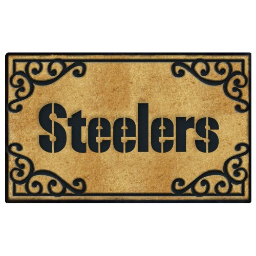 Pittsburgh Steelers Door Mat at Amazon.com