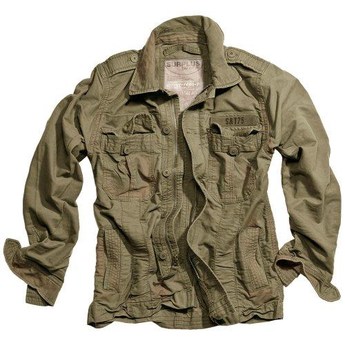 Surplus Heritage Vintage Jacket Olive size M
