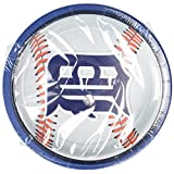 Detroit Tigers Baseball - Round Dinner Plates Party Accessory