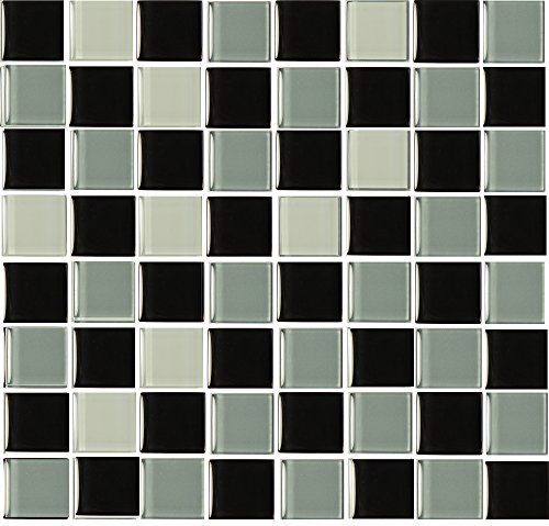 pack-of-10-glass-effect-black-and-grey-mosaic-tile-transfers-stickers-peel-and-stick-transform-your-