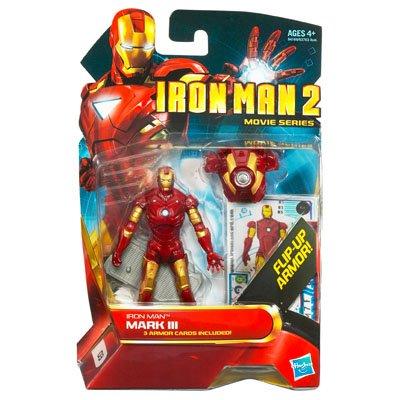 Iron Man 2 Figures Series 01 - Iron Man Mark III (Iron Man Action Figure )