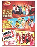 DISNEY PLAYING CARDS- HIGH SCHOOL MUSICAL 1-2-3.