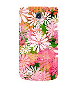 Floral Painting 3D Hard Polycarbonate Designer Back Case Cover for Samsung Galaxy S4 Mini i9190