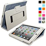 Snugg™ iPad 2 Case - Smart Cover with Flip Stand & Lifetime Guarantee (Blue Denim) for Apple iPad 2