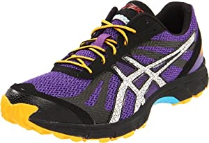 ASICS Men's GEL-Fuji Racer Running Shoe,Purple/Lightning/Orange,9.5 M US
