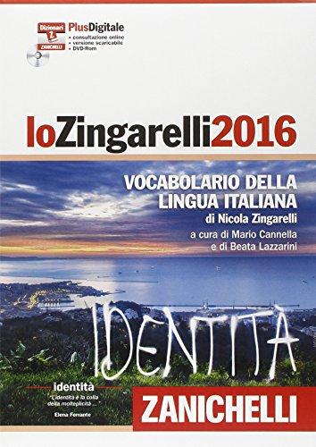 Lo Zingarelli 2016 Vocabolario della lingua italiana Plus digitale Con aggiornamento online Con DVD ROM PDF