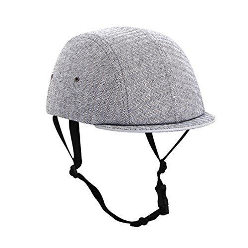 Skateboard Bicycle Bike Cycling Skiing Outdoor Sports Protective Equipment headgear Abs Cork Inner Shell Helmet Classic Glen Check