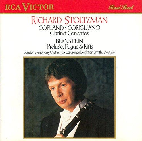 Corigliano & Copland: Clarinet Concerti / Bernstein: Prelude, Fugue & Riffs (Prelude Fugue And Riffs compare prices)