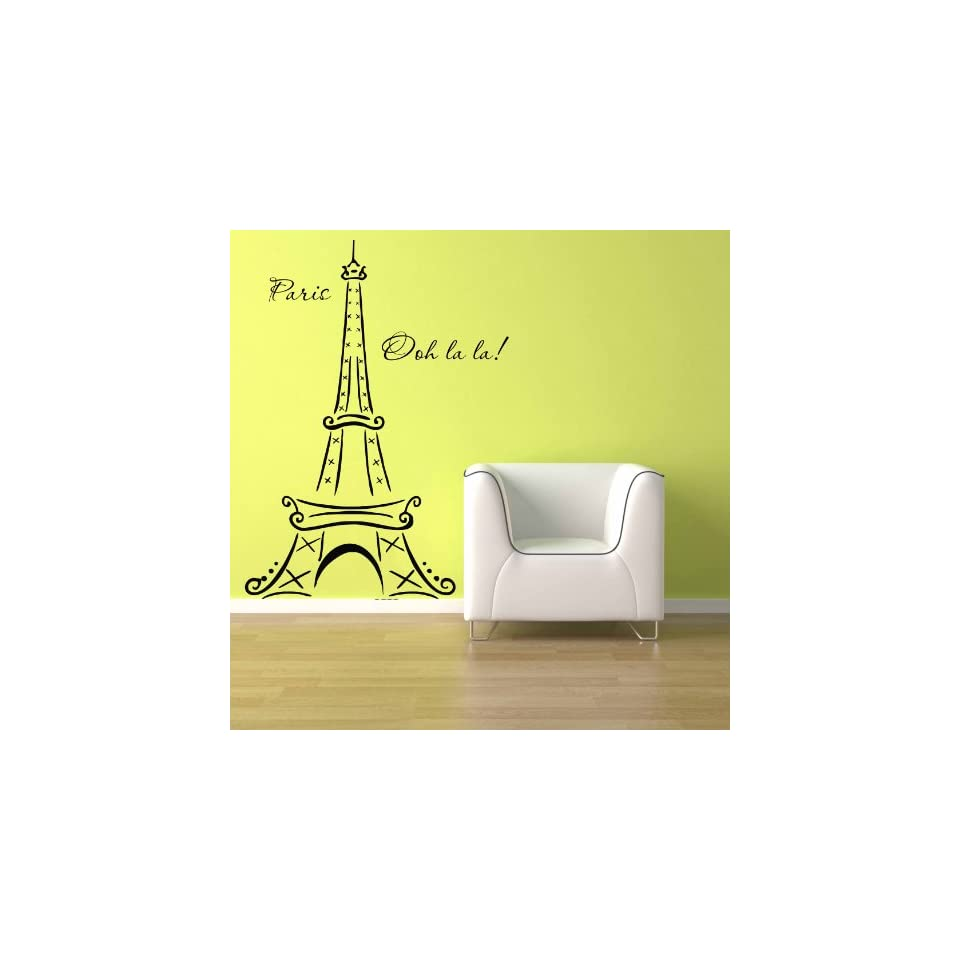 Fine Paris Vinyl Wall Art Contemporary - The Wall Art Decorations ...