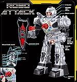 Ferngesteuerter-Roboter-fr-Kinder-Hervorragender-unterhaltsamer-Spielzeugroboter-tanzt-schiet-weiche-Pfeile-spricht-luft-RoboAttack
