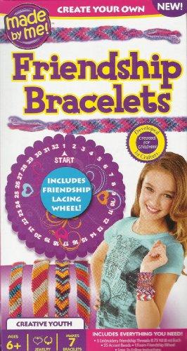 FRIENDSHIP BRACELETS MADE BY ME BY HORIZON CREATE YOUR OWN BRACELETS KIT (MAKES UP TO 7 BRACELETS)