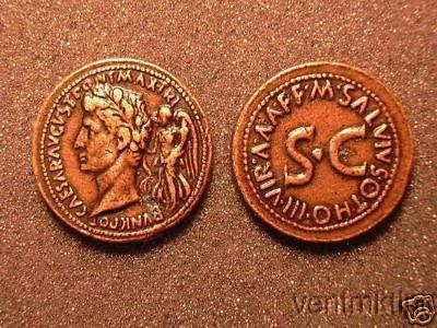 (DD R 27) Sestertius of Augustus COPY