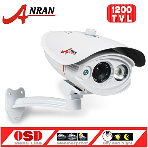 Buy Discount ANRAN 1200TVL SONY IMX138 CMOS Sensor High Resolution Array 1 IR Long Range Color Day N...