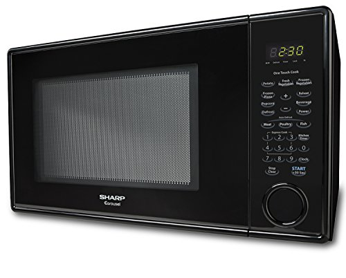Countertop Microwave Small Footprint : Sharp Countertop Microwave Oven ZR309YK 1.1 cu. ft. 1000W Black Home ...