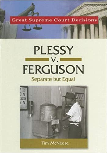 """ferguson summary Plessy v ferguson summary by a 7-1 vote, the court said that a state law that """" implies merely a legal distinction"""" between the two races did not conflict with the ."""