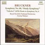 ブルックナー:交響曲第00番「習作」/交響曲第4番より終楽章「民衆の祭り」(ティントナー)