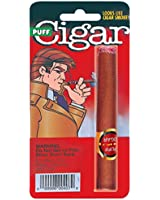 Joker Large Fake Puff Cigar Costume Accessory Brown One Size