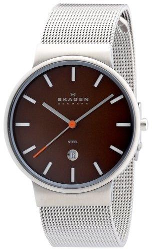 SKAGEN (スカーゲン) 腕時計 basic steel mens J351LSSDCO ケース幅: 34mm メンズ [正規輸入品]