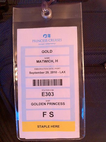 Where do I find my cruise reservation documents? | Royal ...