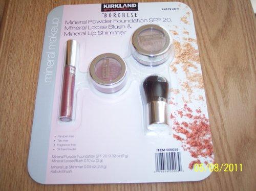 Loose Powder: Kirkland Signature BORGHESE Mineral Powder