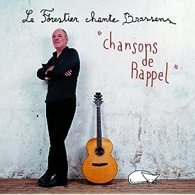 Le Forestier Chante Brassens - Chansons De Rappel