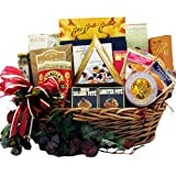 Art of Appreciation Gift Baskets Epicurean Feast Gourmet Food Basket with Caviar