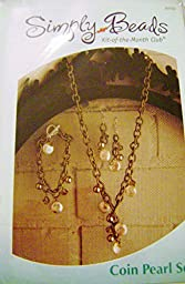 Simply Beads Kit of the Month Coin Pearl Set Ensemble BD032