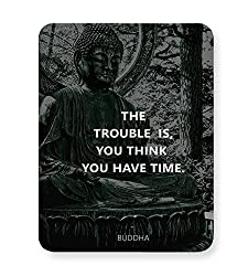 PosterGuy Mouse Pad - Buddha Quotes | Designed by: CW Doodler