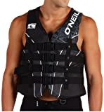 ONeill Mens Superlite USCG Life Vest, Black/Metal - MD
