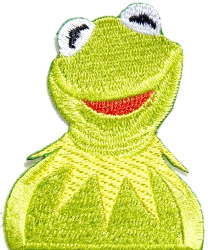 Kermit The Frog Sesame Street Puppet Jim Henson Cartoon Comics Patch Sew Iron on Embroidered Applique Collection By (Mens Kermit Suit Costume)