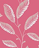 DL30466 - Trailing - Leaf - Pink - Accents - Wallpaper