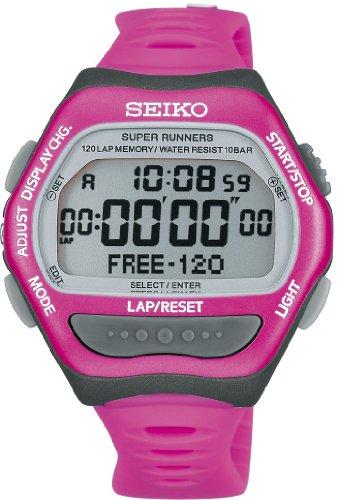 [セイコー]SEIKO 腕時計 PROSPEX プロスペックス SUPER RUNNERS スーパーランナーズ ピンク SBDF029 ユニセックス