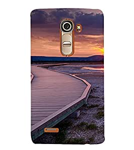 PrintVisa Travel Sunset Design 3D Hard Polycarbonate Designer Back Case Cover for LG G4 Mini