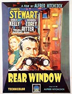 alfred hitchcock rear window classic. Black Bedroom Furniture Sets. Home Design Ideas