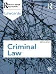 Criminal Lawcards 2012-2013