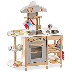 howa 4815 wooden play kitchen toys games. Black Bedroom Furniture Sets. Home Design Ideas