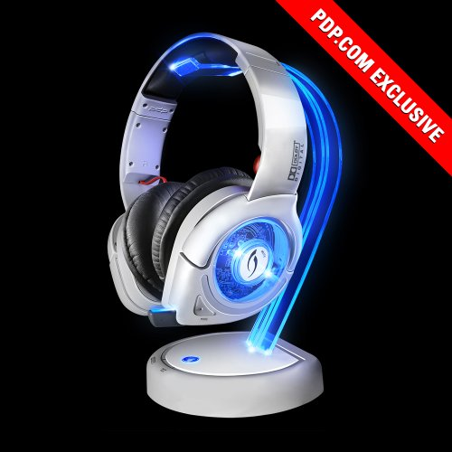 White Afterglow Dolby 5.1 Surround Sound Wireless Headset - Works With Ps4